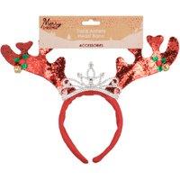 'Christmas Antler Tiara Headband