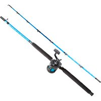 Image of Fladen 2 Piece Fission Boat Combo - Blue / 1.8m