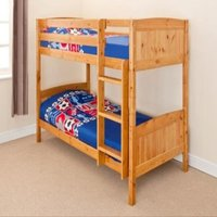 Classic Wooden Bunk Bed in 2ft6 Shorty or 3ft Single  - Pine / Small Single
