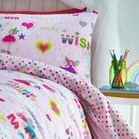 Rainbow Fairies Duvet Set - Multi / Double