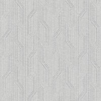 'Orion Torsade Striped Wallpaper - Light Grey