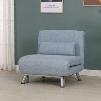 Single Sofa Bed Sleeper - Blue