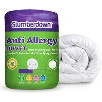 Slumberdown 4.5Tog Anti Allergy Duvet - Single