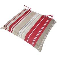 Striped Valance Cushion - Armchair