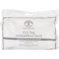 13.5 Tog Duvet - White / Single