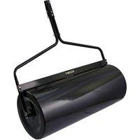 T Mech 120L Towable Garden Roller - Black
