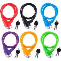 Colourful Bike Cable Lock