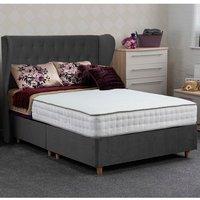 Jonas and James Dartmoor Divan Bed Set - Plush Steel / 1350mm / Single / 2