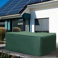 New Protective Furniture Cover for Garden Wicker Rattan from UV Rain Birds - Green / 210cm