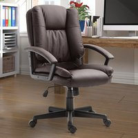 'Swivel Executive Office Chair  - Brown