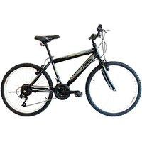 Mens Rigid Frame Mountain Bike With 21 Speeds - 24 inch