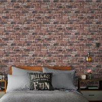'Red Brick Wall Wallpaper