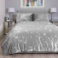 Portia Sparkle Duvet and Pillow Case - King