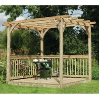 Ultima Pergola Deck Kit  - 245cm
