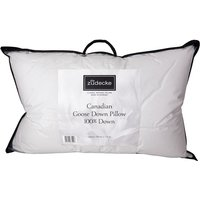 Canadian Goose Down Pillow Collection - White / 100% Canadian Goose Down / 75cm