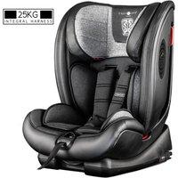 Excalibur Group 1-2-3 25kg Harnessed Car Seat - Graphite