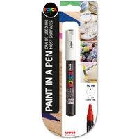 'Uni Posca Pc-1m Extra Fine Marker Pen - White