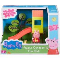 Peppa Pig Outdoor Fun Swing Slide Playset