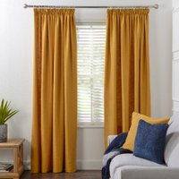 Chiltern Tape Curtains - Ochre / 137cm / 168cm