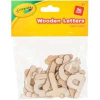 'Crayola Wooden Craft Letters