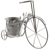 Bicycle Flower Planter - Grey