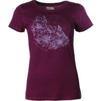Saltrock Young Cardinal Ladies Tee Shirt - Dark Purple / 16