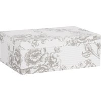 Elegance Jewellery Box - Silver