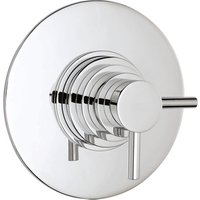 Jonas and James Dow Concealed Thermostatic Shower Valve - Chrome