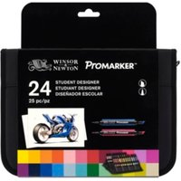 Winsor and Newton Promarker Pen Student Set