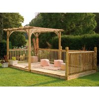 Ultima Pergola Deck Kit  - 305cm