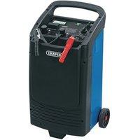 Image of Draper 12V/24V Battery Starter/Charger - Black / 600