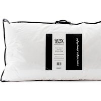 Duck Feather and Down Pillow Collection - White / 50cm / Non Returnable if used / 90cm / Soft/Medium