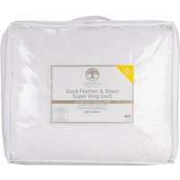 Duck Feather and Down 10.5 Tog Quilt - Super King size