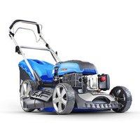 "Hyundai 20"" Self Propelled Petrol Lawn Mower Includes Engine Oil"