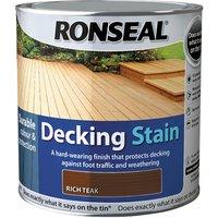 'Ronseal Garden Decking Stain - Rich Teak