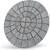 Cathedral Circle Paving Kit  - Weathered Moss