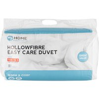 My Home 13.5 Tog Duvet - White / King size