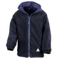 Back to School Reversible Jacket - Royal Navy / 3-4 years