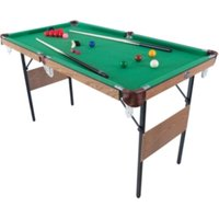 4ft 6inch Snooker And Pool Table