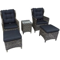 Houston Five Piece Outdoor Bistro Set