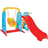 Pilsan Cute Swing and Slide Set