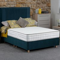 Jonas and James Hadleigh Divan Bed Set With Mattress - Ocean / Single / 4