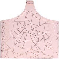 Blush Geometric Magazine Rack