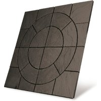 Bowland Stone Chalice Circle 1.8m Paving Kit - Welsh Slate