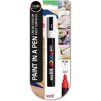 'Uni Posca Pc-5m Medium Marker Pen - White