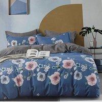 4PC Egyptian Cotton Complete Duvet Set Double  - CS9