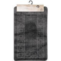 Bath Mat Set - Charcoal