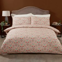 Maja Damask 200 Thread Count Duvet Cover and Pillowcase Set - Super King