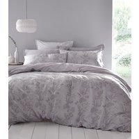 Arboretum Duvet Cover and Pillowcase Set - Lilac / Double