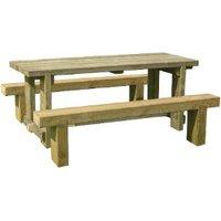Sleeper Table Bench Set